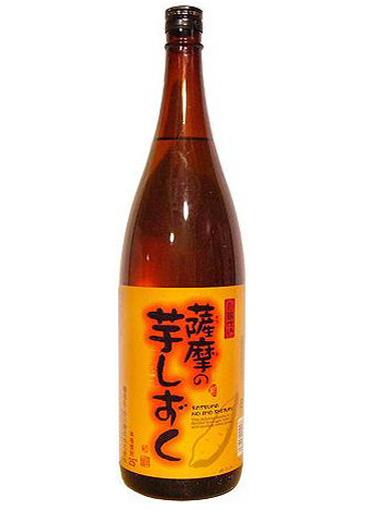 芋焼酎 薩摩の芋しずく 25度 1.8L