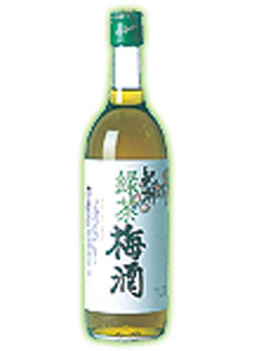 緑茶梅酒 720ml