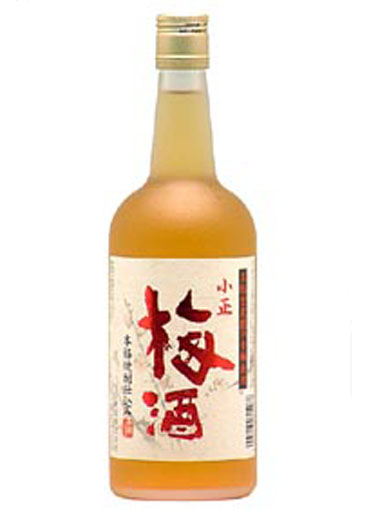 小正梅酒 720ml